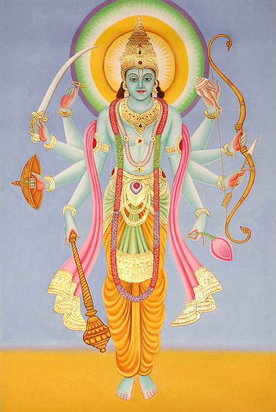 Vishnu, the Holy Spirit