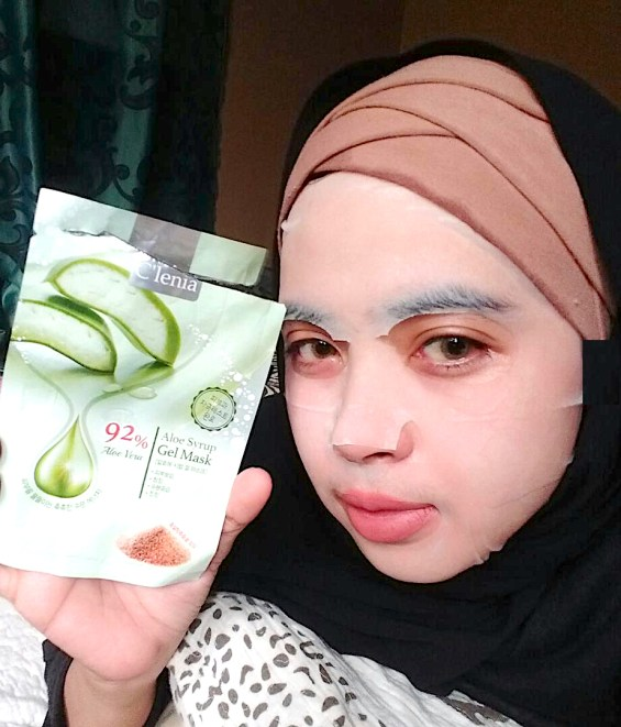 hidayaharmanii_ - Aloe Mask 9th Aug 2018