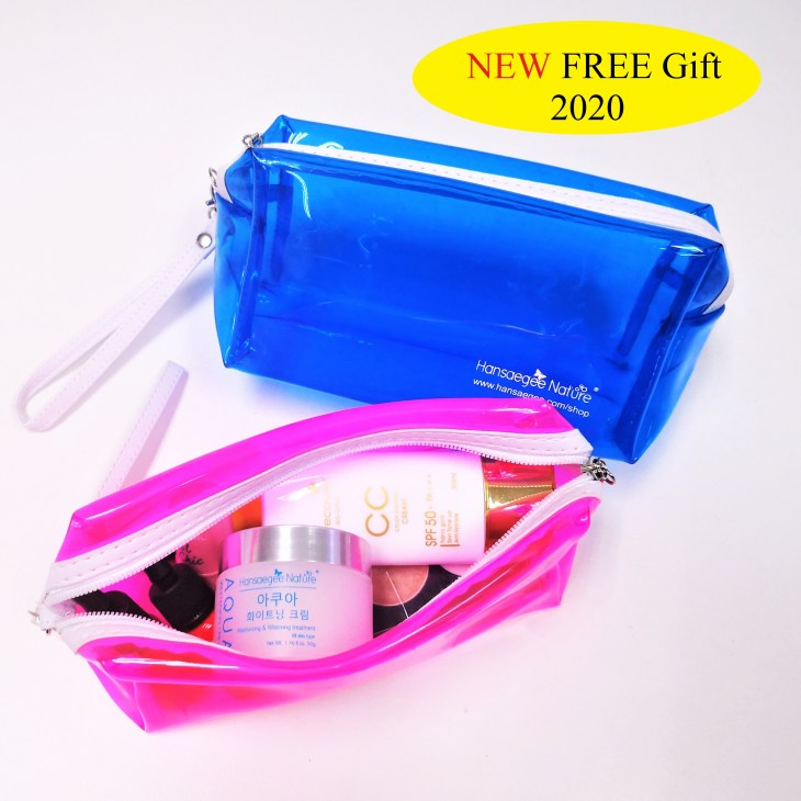 7 -NEW GIFT (Transparent Cosmetic Bag)