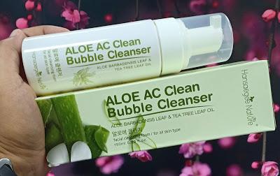 Pencuci Muka / Aloe Bubble Cleanser