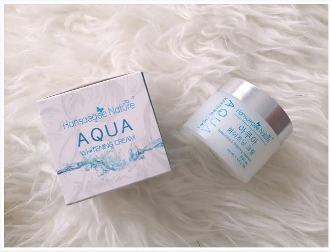 Aqua Whitening Cream Hansaegee Nature