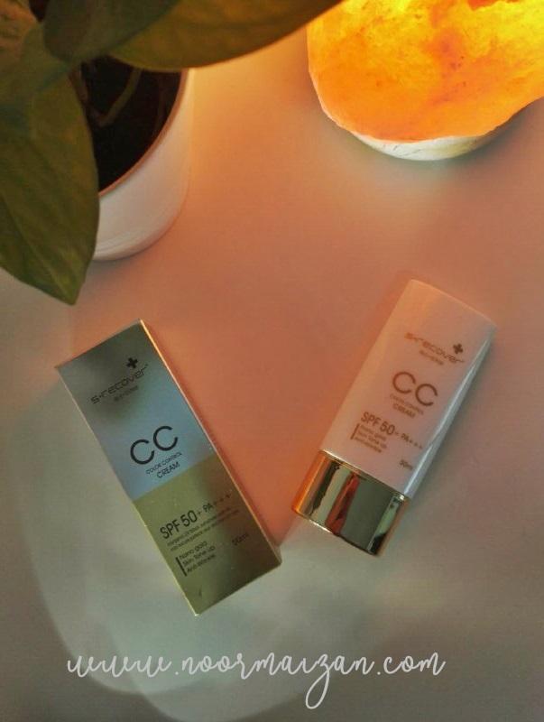 Cara Pakai CC Cream Hansaegee Nature Yang Ada SPF Ringkas dan Cantik