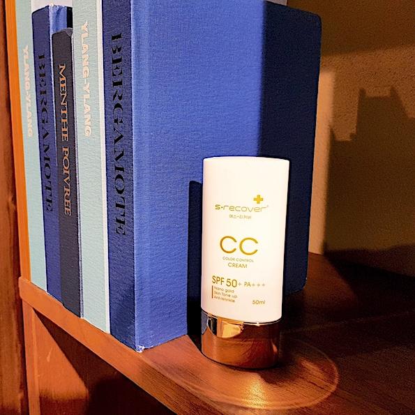 Gold Nano CC Cream yang ada SPF