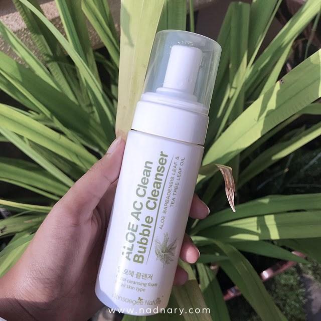 Hansaegee Aloe AC Clean Bubble Cleanser