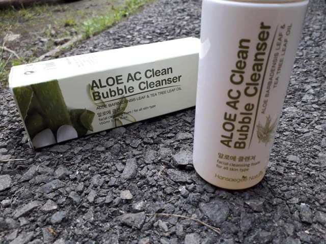 Pencuci Muka Aloe AC Bubble Cleanser