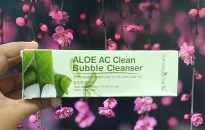 Pencuci Muka Aloe Vera Untuk Kulit Berminyak