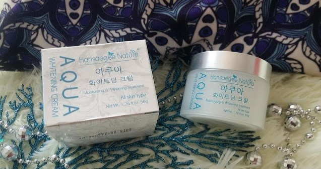 TIPS MEMBAIKI KULIT SUNBURN DAN KUSAM Aqua Whitening Cream