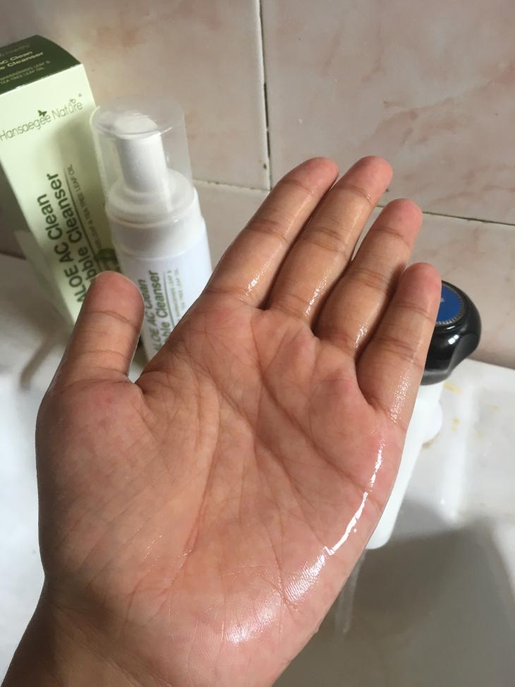 moisture into the skin