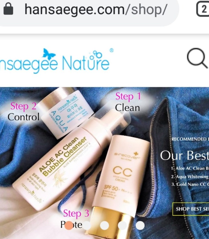 Hansaegee Nature Online Store