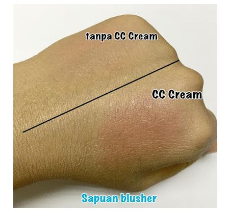 CC Cream sebagai make up based