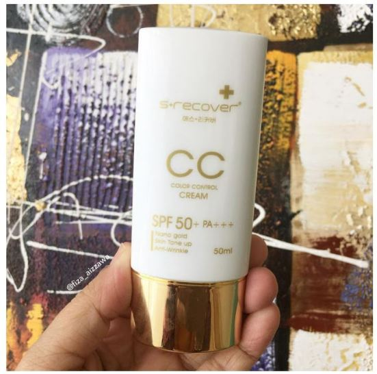 Gold Nano CC Cream from Hansaegee Nature