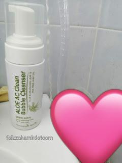 Aloe AC Clean Bubble Cleanser