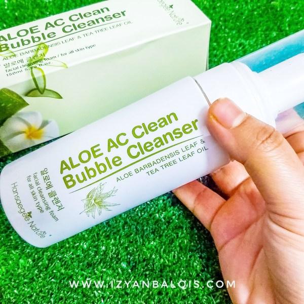 Aloe AC Cleans Bubble Cleanser