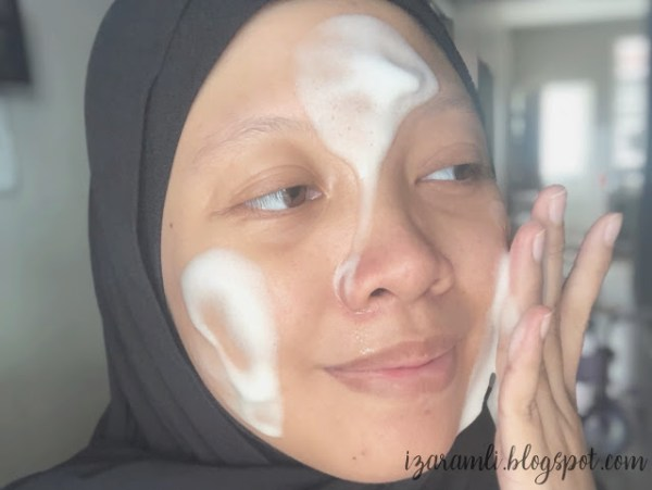 Bubble on face