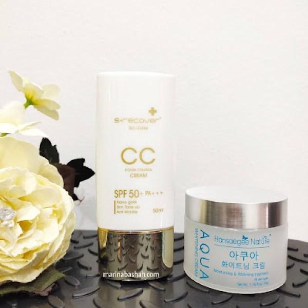 packaging aqua cc cream