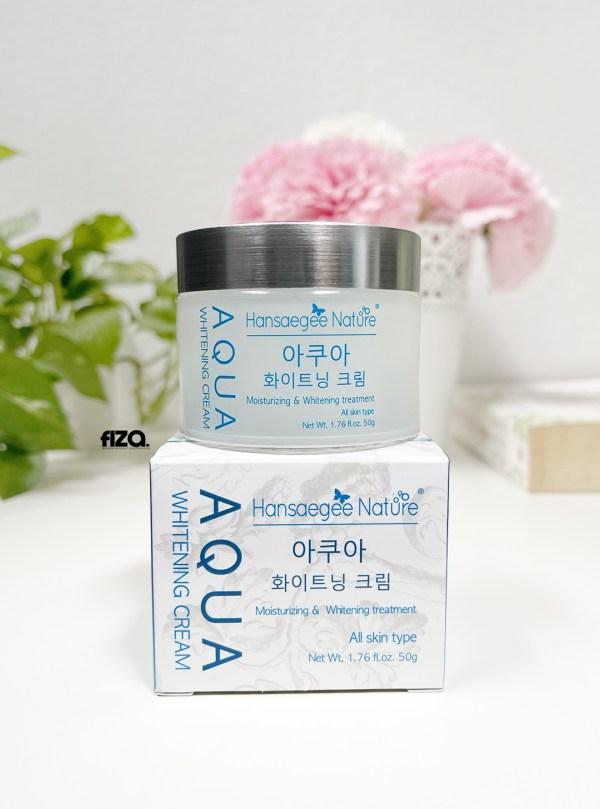hansaegee nature-aqua whitening cream