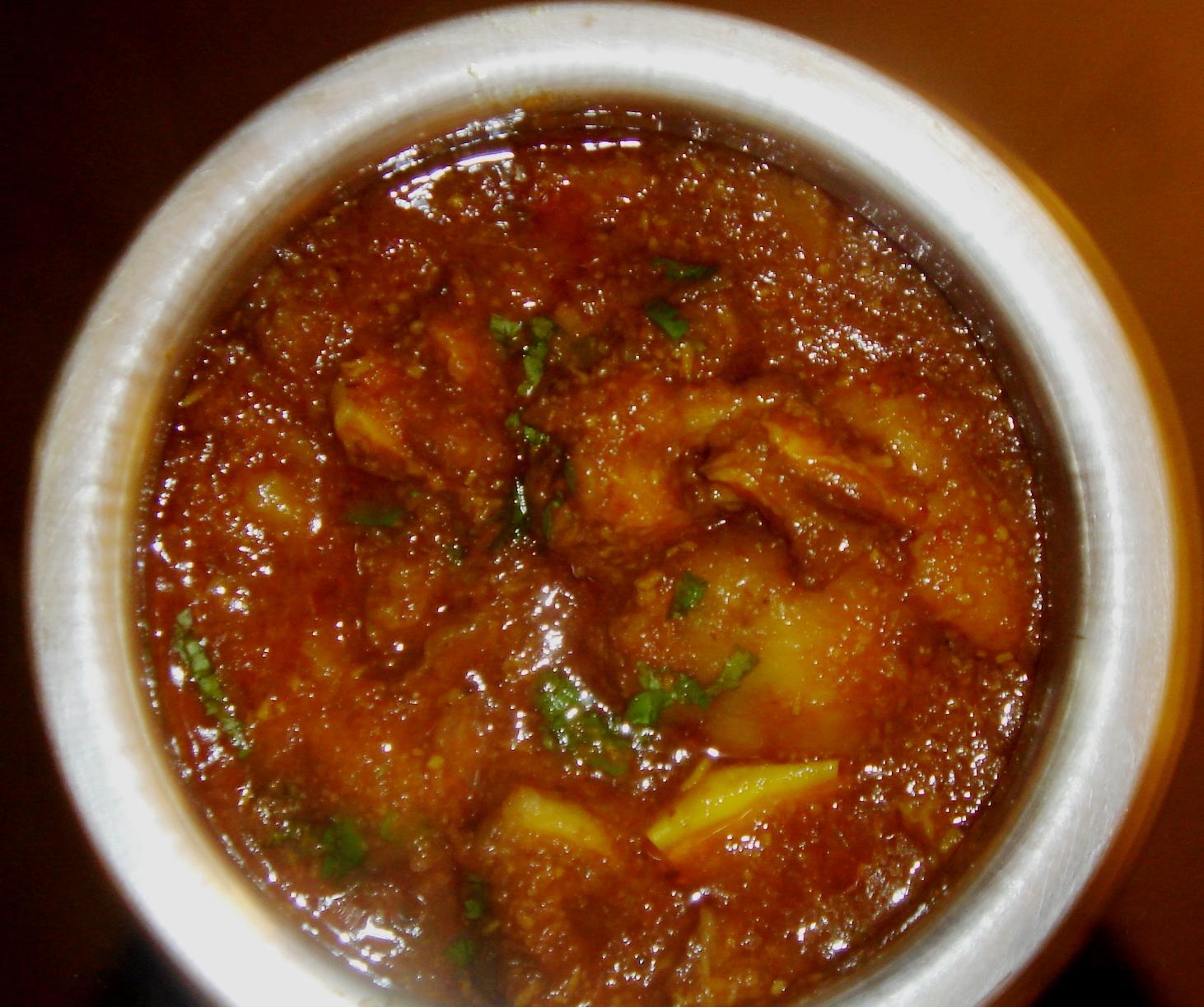 mutton kolhapuri -3