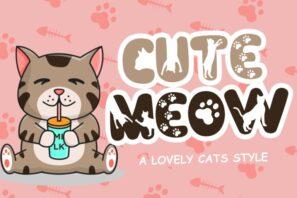 Cute Meow