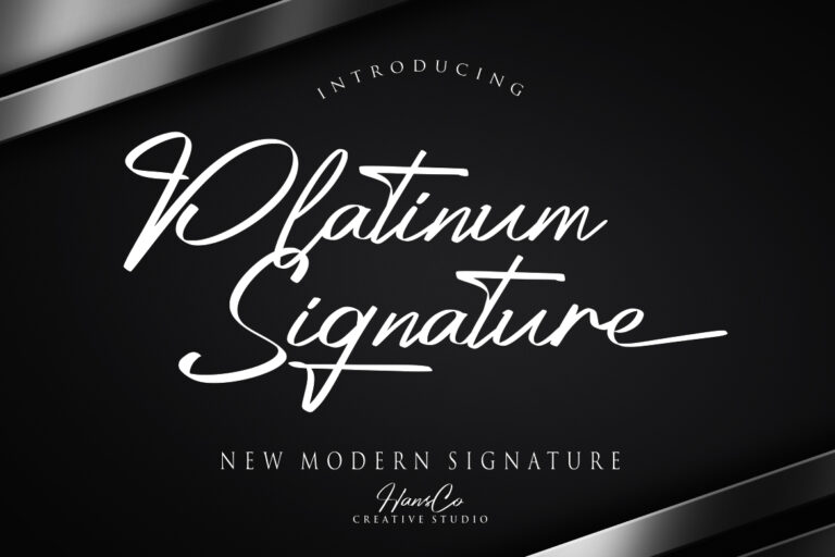 Preview image of Platinum Signature