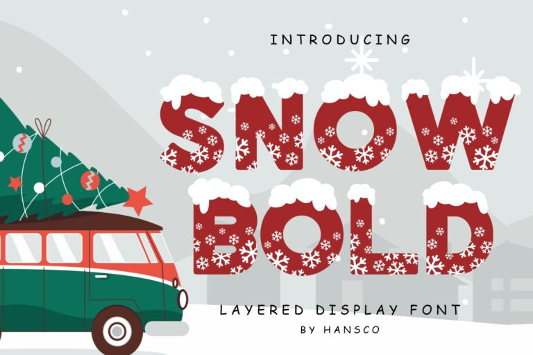 Preview image of Snow Bold