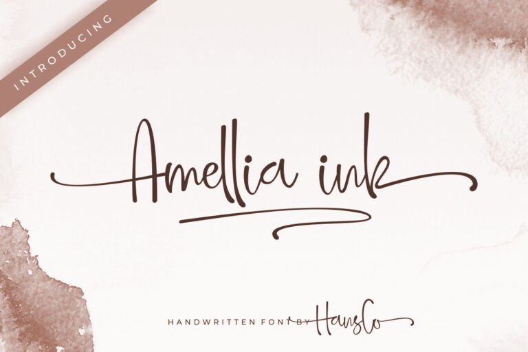Preview image of Amellia ink