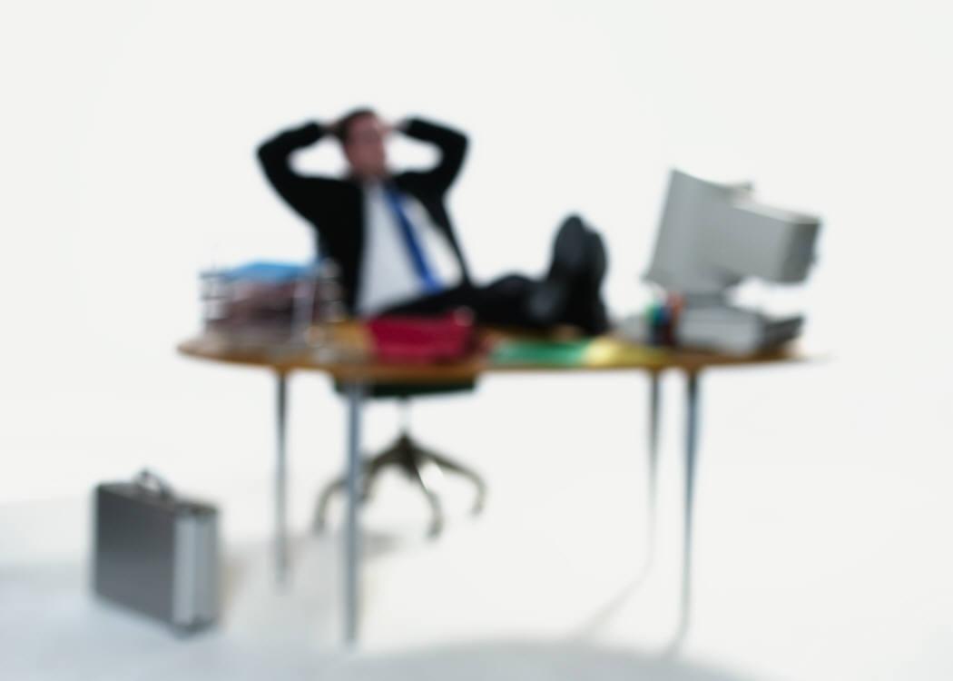 Leerer Schreibtisch, leeres Postfach, klarer Kopf!