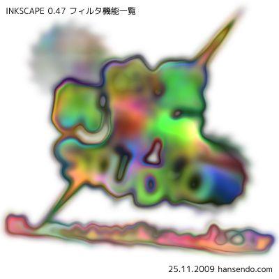 テクスチャ:歪んだ虹