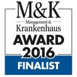 Logo: Finalist MK Award 2016