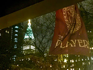 view of new york from the players club