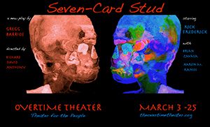 Poster for Seven-Card Stud by Gregg Barrios