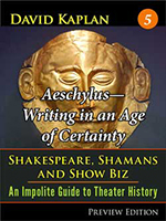 Aeschylus-Writing in an Age of Certainty