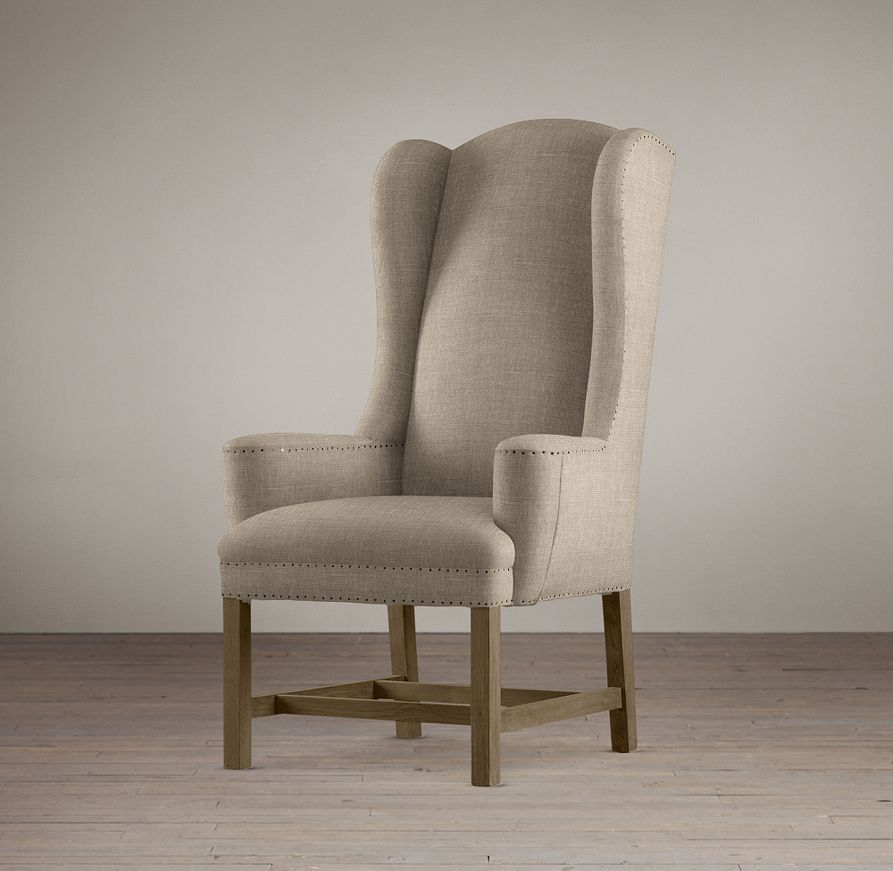 cost reupholster chair universal wedding covers sale re-upholstering a wingback chair, part 2   hansens at home