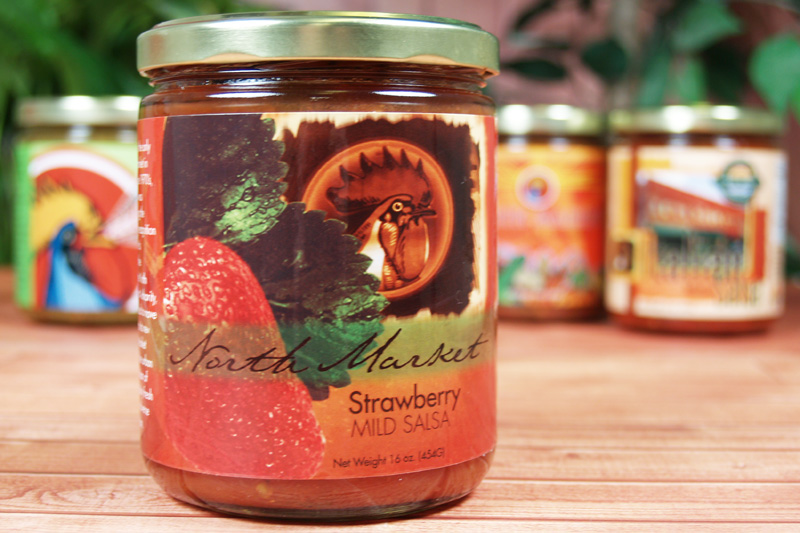 CaJohn Strawberry Salsa Label