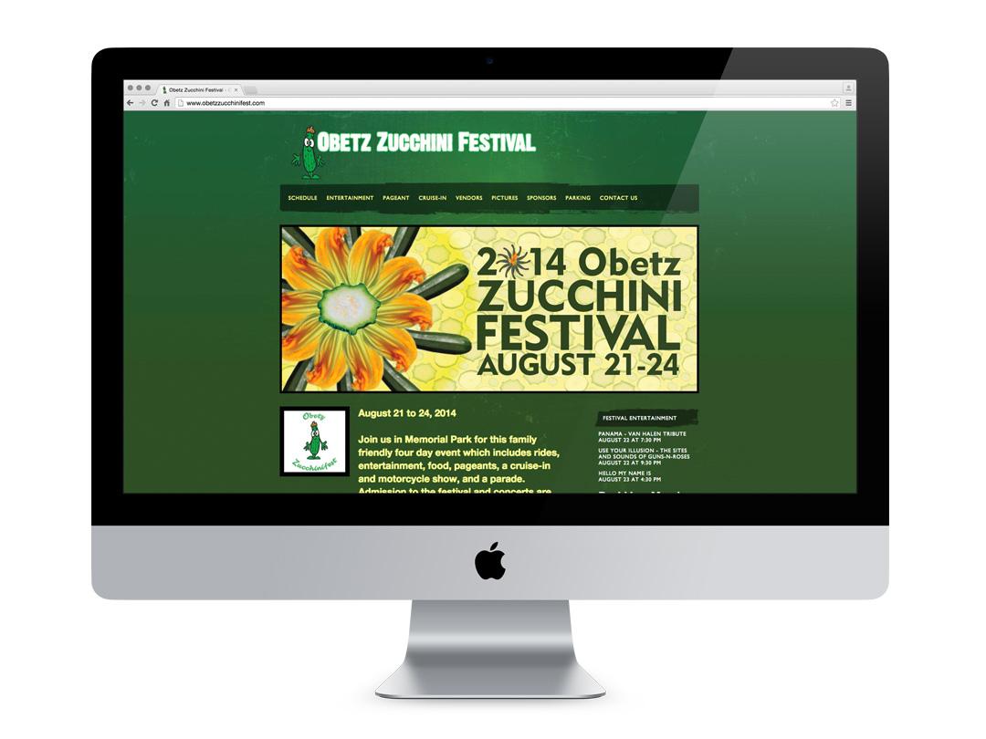 Obetz Zucchini Festival Website