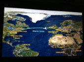 9 1/2 hour flight taking me back home