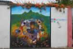 art work while exploring san juan