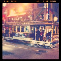 Hans' Milieu - The First iPhoneography Exhibition in South Africa - Submission - San Fran Cable Car - Streetcar Named Desire