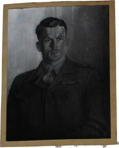 Captain Todd, HQ. 78 Div. 1945/46, Millstatt, 50/62 cm