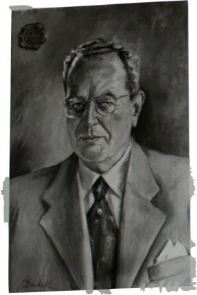 Johann Wessels (Ad. Voigt & Co, Bremen), Garmisch-Partenkirchen.1946. Millstatt