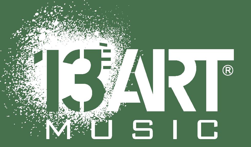 Logo 13eme Art Music blanc copy