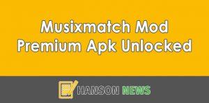 Download Musixmatch Mod Premium Apk Unlocked Terbaru