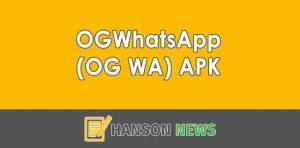 Download OGWhatsApp (OG WA) APK Versi Terbaru 2021 (Official)