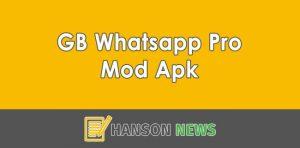 GB Whatsapp Pro Mod Apk