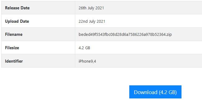 Cara Downgrade iOS 13 ke 12 yang Mudah - Via Ipsw.me