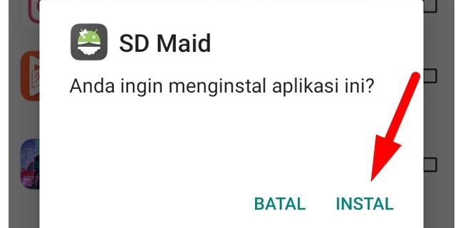Cara Instal SD Maid Pro