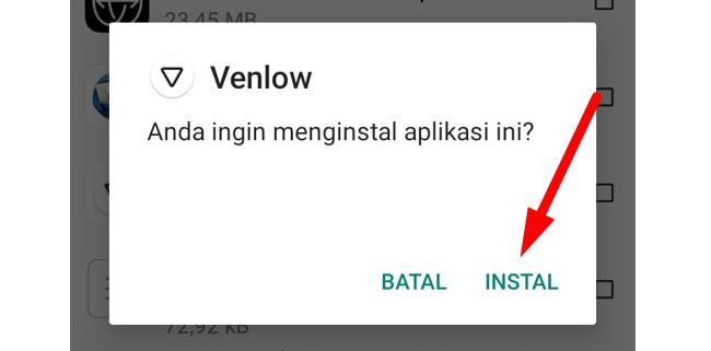 Cara Instal Venlow Pro Mod
