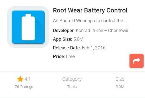 Wear Battery Control Root