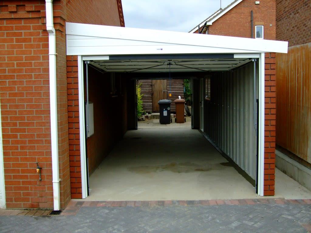 Lean To  Hanson Concrete Garages