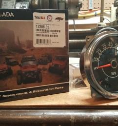 fixing your new speedometer gauges hanson mechanical wiring harness dash cluster wiring jpg 5312x2988 jeep cj7 [ 5312 x 2988 Pixel ]