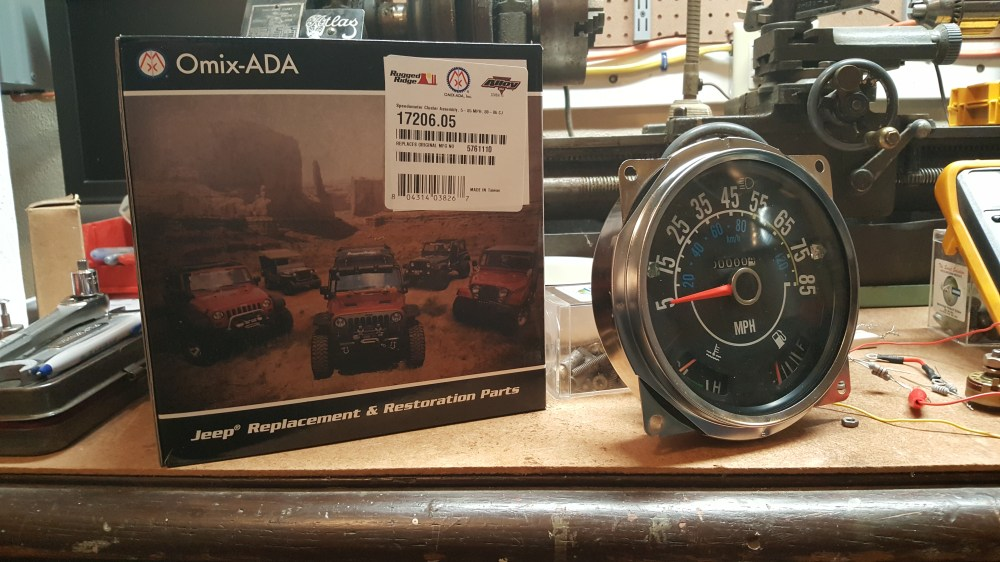 medium resolution of fixing your new speedometer gauges hanson mechanical wiring harness dash cluster wiring jpg 5312x2988 jeep cj7